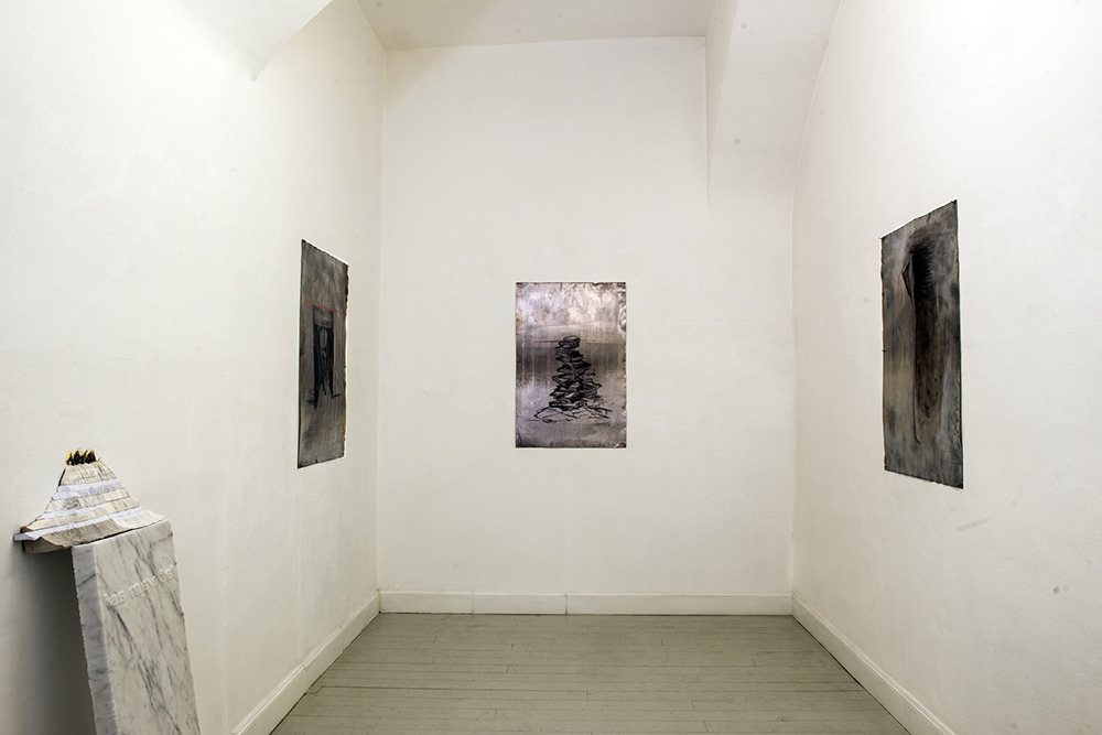 SACRO, Marco Cordero, exhibition view, Ph. Marco Del Comune