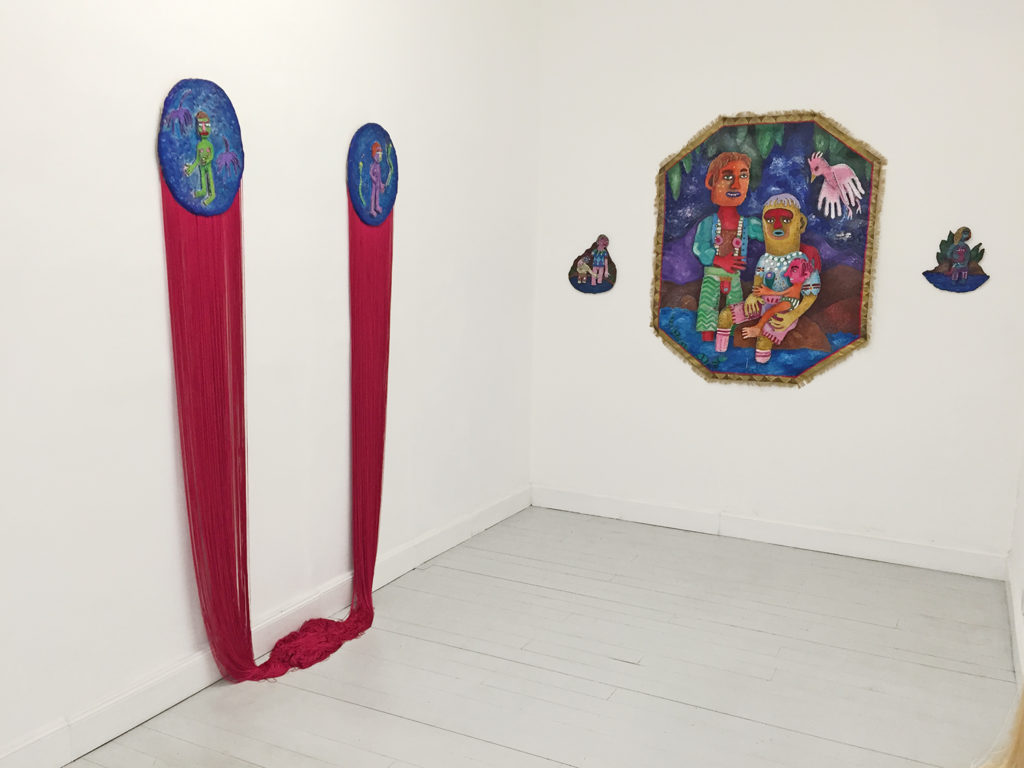 The Family, exhibition view
