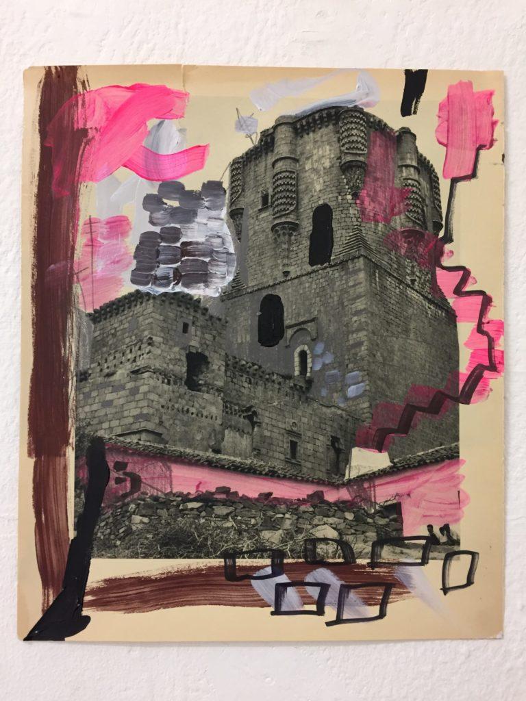 Federico Luger, Spain Book, 2011, tecnica mista, cm 15,5x30,5