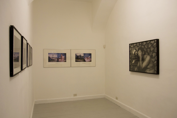 Urs Luthi, exhibition view