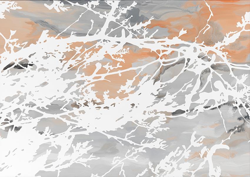 Sven Druehl, SDWT, 2016, smalto su tela, 60x85 cm
