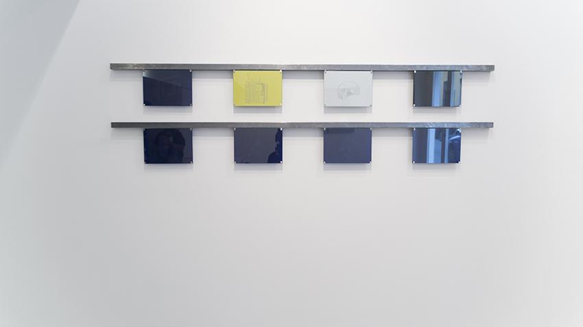 Gema Rupérez, Transformadores (installazione), 2015, disegno su carta da lucido. 18,5 x 25,5 cm cad.