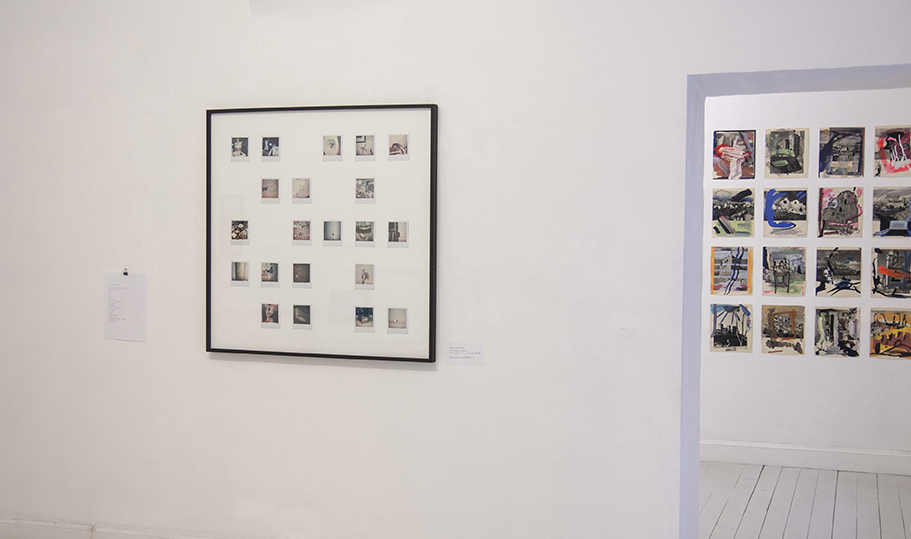 Derive, exhibition view, Maya Quattropani