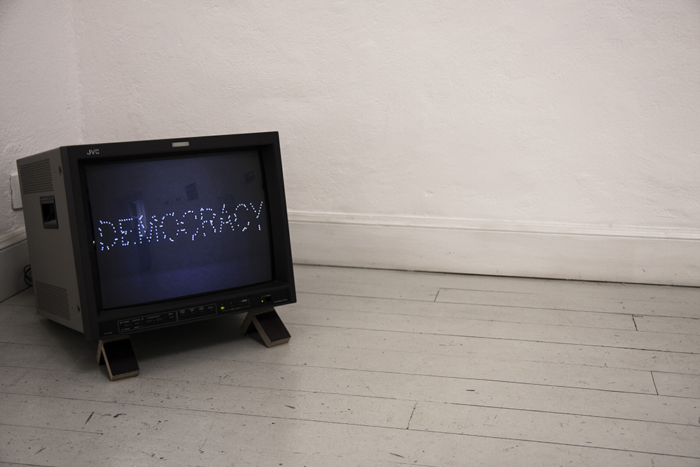 Gema Rupérez, Democracy, 2017, video, 3'47, ed 1/5