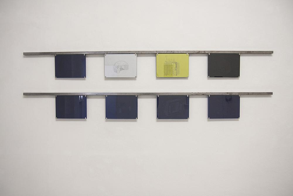 Gema Rupérez, Transformadores, 2015, disegno su carta da lucido,18,5 x 25,5 cm