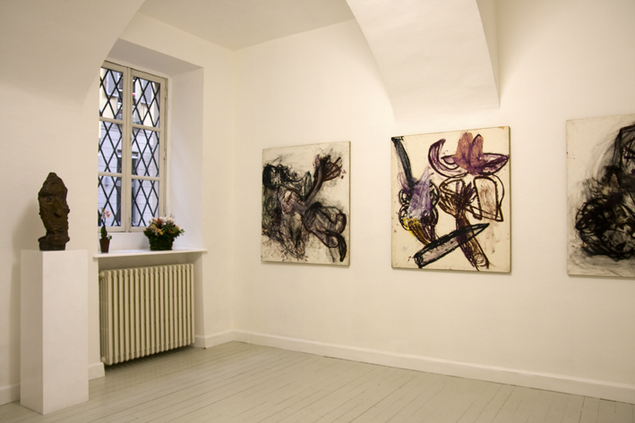 Martin Disler, exhibition view