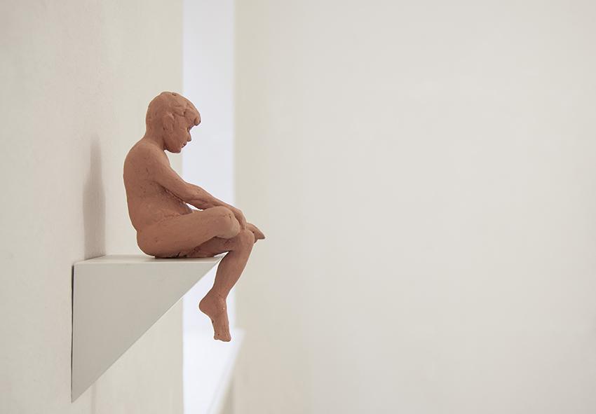 Miro Trubac, Pedro, 2013, gomma siliconica, 8 x 25 x 6 cm,