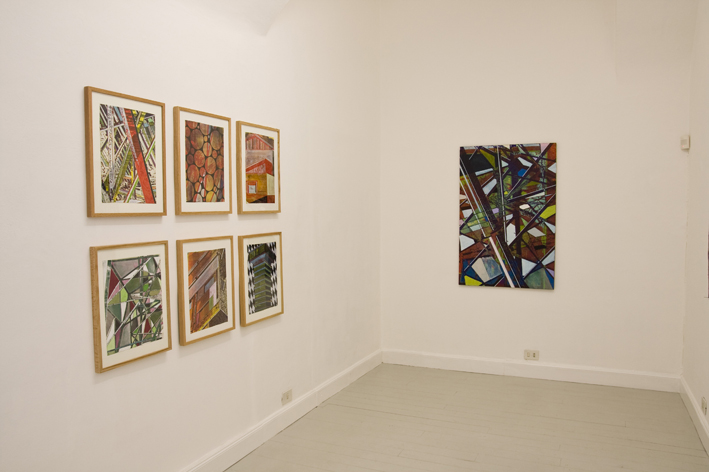 Jan Muche, exhibition view