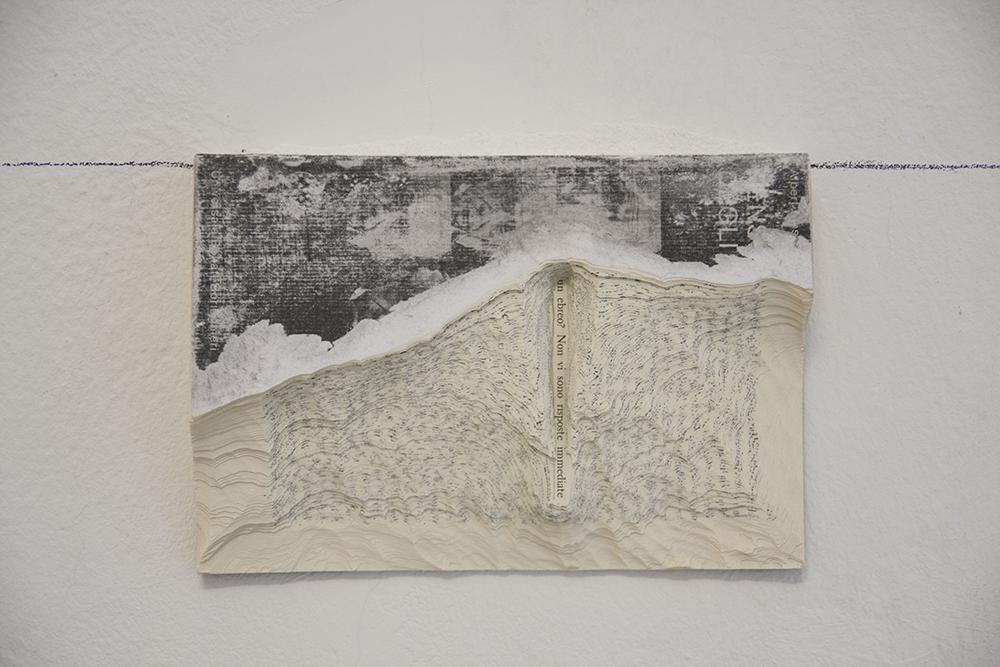 Marco Cordero, Battere piano, 2016, libro, cm 19,5X13X2