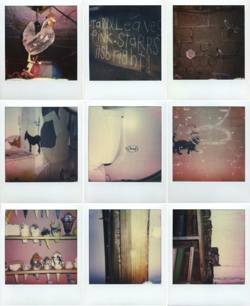 Maya Quattropani, The House, 2015, 20 polaroid a colori, cm 8.8x10.7 cad.