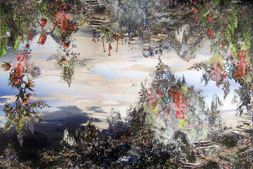 Jane Ward, Of earth and atmosphere, 2014, stampa digitale, cm 60x90